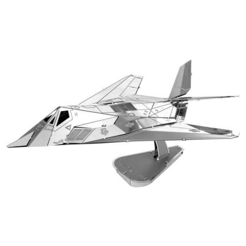 Fascinations Metal Earth USAF F-117 Nighthawk Aircraft 3D Steel Model Kit MMS164
