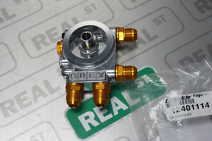 Greddy-Thermostatic-Oil-Sandwich-Plate-Adapter-10-AN-Fittings-12401114