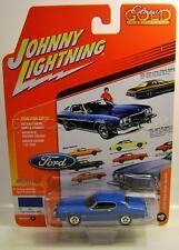 1974 '74 FORD GRAN TORINO LIGHT GRABBER BLUE JOHNNY LIGHTNING CLASSIC GOLD 2017