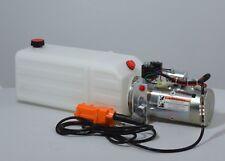 Double Acting 12 Volt Dc Hydraulic Power Unit 8 Quart Poly Tank