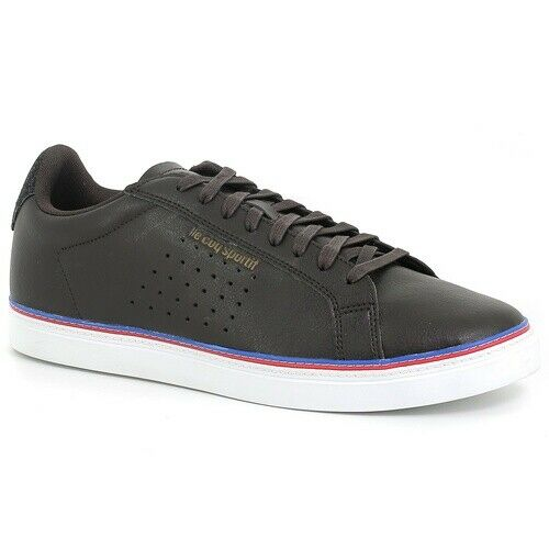zapatos LE COQ SPORTIF 1820033 COURTACE CRAFT REGLISSE negro MODA hombres FASHION
