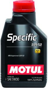 MOTUL-SPECIFIC-229-52-5W-30-OLIO-MOTORE-MERCEDES-1-LITRO-100-SINTETICO-C3-SN-CF