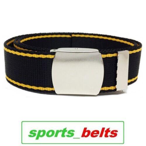 STYLE Kids Webbing Trouser Belt 30mm 8-10ys 75cm Child Boys Girls Canvas Made UK