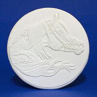 Arabian Stallion Horse Cookie - Debbi LerMond - Silver Master Resin Medallion