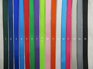 3/8'' (10mm) -20 Yards Colorful Nylon Webbing- Fine-Close-Thin, 16 color choices