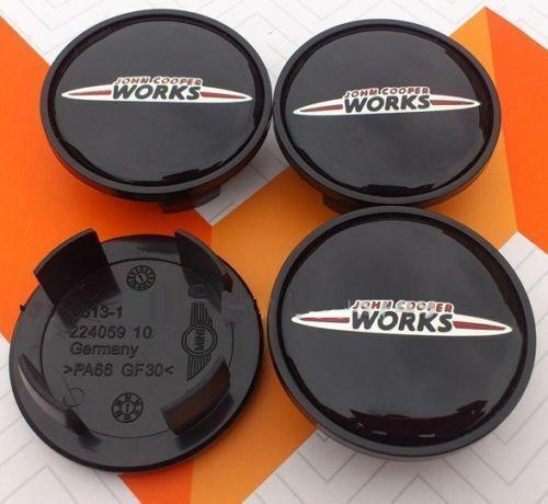 4x Mini John Cooper Works Caps Wheel Center Hub Cap Car Logo 54mm