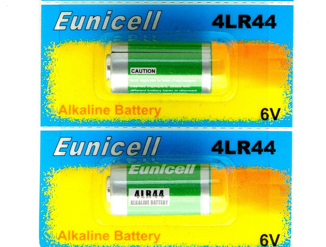 2x 4LR44 6v batteries Alkaline  PX28A 476A A544 4A76 battery by Eunicell