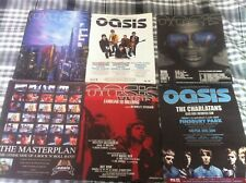 OASIS - MAGAZINE ADVERT / SMALL POSTER live who feels love masterplan familiar