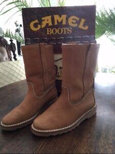 Boots 8 Details ; Zuneuamp; camel Topraritätedelorig 43 Winterstiefel Gr 5 WDEH2I9