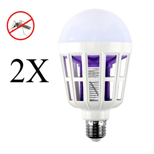 Buy E27 15w LED Zapper Anti Mosquito Light Bulb Lamp Flying Insects