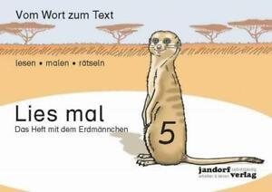 Lies-mal-5-Das-Heft-mit-dem-Erdmaennchen-Vom-Wort-zum-Text-Anfangslesen