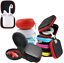 Hard-Earphones-Earbuds-Airpods-Carrying-Storage-Case-Cover-Zippered-Pouch thumbnail 1