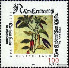 BRD 2161 (kompl.Ausg.) postfrisch 2001 Leonhart Fuchs