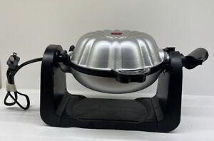 Elite Cuisine ECM-2919 Electric Flip Bundt Pan Cake Maker Baker Machine