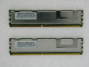 4GB 2X2GB FBDIMM PC2-5300F 667GHz FOR DELL POWEREDGE 1900 1950 2900 2950 TESTED