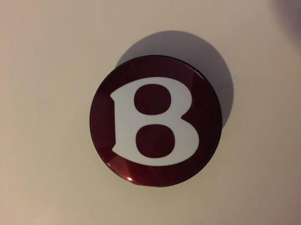 100% Nuovo Oem Factory Bentley Originale B Centro Ruota Tappo Oem #3w0601157a Con Il Miglior Servizio