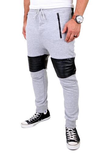 VSCT Clubwear Jogging Pantaloni da uomo low crotch Biker Sport Pantaloni Jogger v-5641434