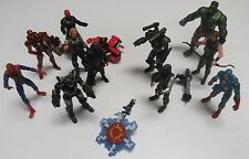 "Marvel Universe 3.75"" 11 Figure Lot Hulk Iron Man Spider-Man Captain America"