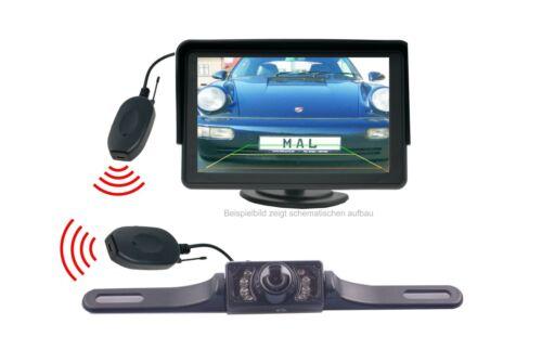 """monitor 4.3/"""" funkübertrager se adapta para Iveco Construcción rückfahr cámara incl"""
