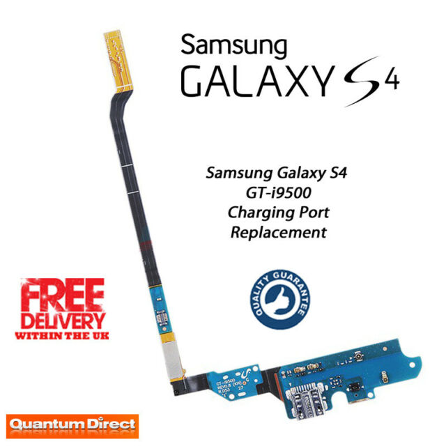 Neuf Samsung Galaxy S4 GT-i9500 Rechange Station De Recharge/Port Assemblage