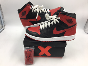 finest selection 4c4be 7928a Image is loading air-jordan-1-retro-high-ban-banned-432001-