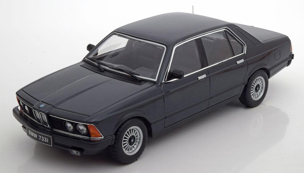 venta al por mayor barato KK modelos de escala 1977 1977 1977 BMW 733i E23 Negro metálico le 1000 un. 1 18New   bonito Bmw     el más barato