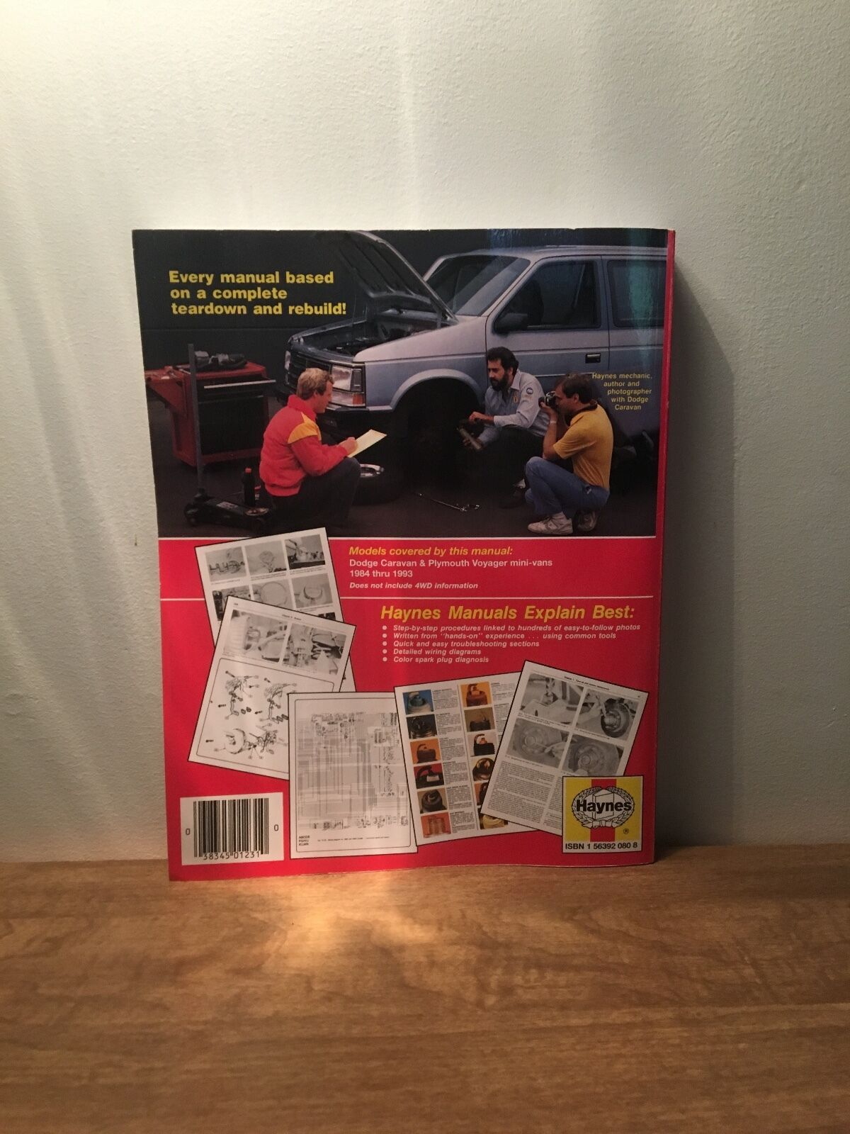 Haynes Dodge Caravan And Plymouth Voyager Mini Van Owners Workshop 93 Wiring Diagram Manual No 1231 1984 1989 By Curt Choate J H 1986 Paperback