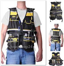 Tool Vest Fatmax Construction Bag Mechanic Electrician Craftman Framer Tools NEW