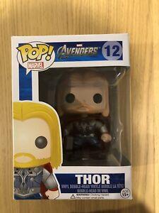 Marvel-Avengers-Thor-12-Retired-Rare-Funko-Pop-Vinyl