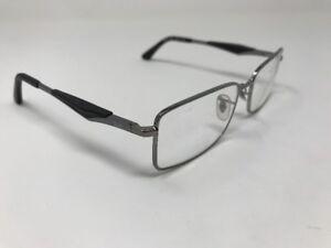 ab262fd7fad Ray Ban Eyeglasses RB 6284 2502 55-17-140 BLACK SILVER FLEX HINGE ...