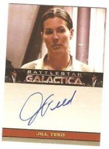 Battlestar Galactica Season 1 Auto Autograph Trading Card Selection