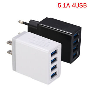 4-Port-Multi-Ports-Universal-USB-Travel-Wall-Fast-Charger-Power-Adapter-US-EU-RF