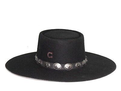 CWHIDT-2242P5 Charlie 1 Horse Women/'s High Desert Wool Hat