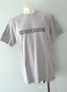 DC-Shoes-Mens-Printed-T-Shirt-GREY-SIZE-XL-NEW