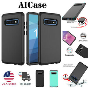 SamSung-Galaxy-S10-S10E-Shockproof-Hybrid-Rugged-Armor-Rubber-Hard-Case-Cover