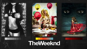 30 24x36 Poster The Weeknd USA Grammy Super Star T-1959