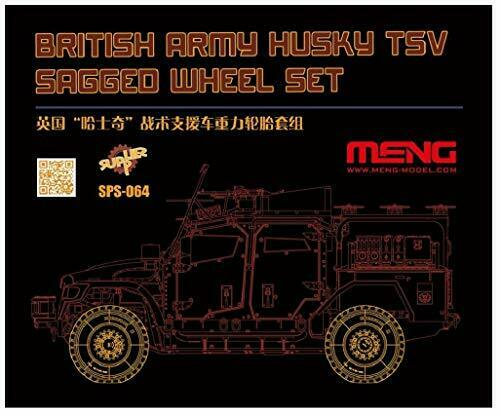 Mont Model British ArmGoldt Vehicle Husky TVS its own Weight Deformation Set of T