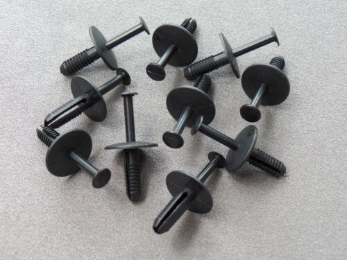 10x spreizniete parachoques clips para Opel Astra corsa zafira bmw e36 e46 e39