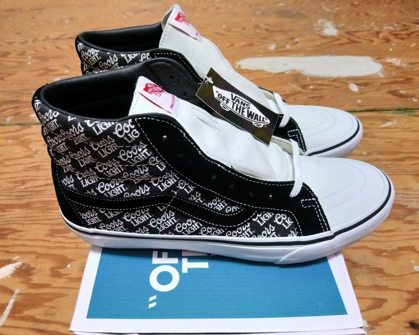 Vans X Coors Light Sk8-Hi Reissue Pro 50th Anniversary size 10.5 supreme wtaps