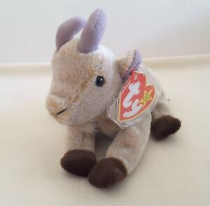 b9a0b6b9a69 Vintage TY Beanie Baby - 1998 GOATEE Original Tag AND Protector W ...