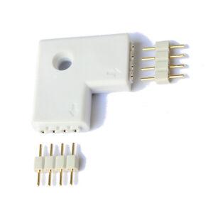 Conector-en-L-para-tiras-led-RGB-sin-soldadura-5050-3528-union-Tira
