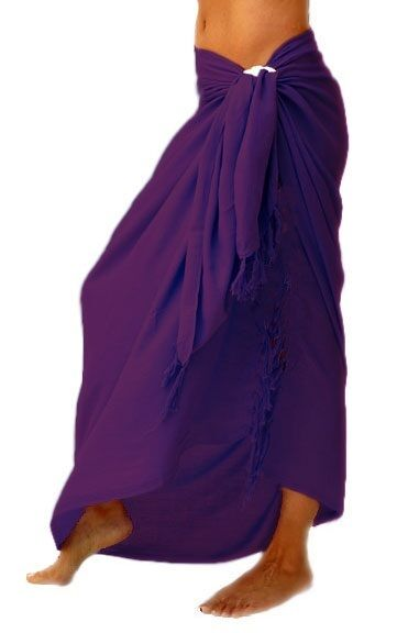Beautiful summer beach sarongs cover ups in 10 different colours