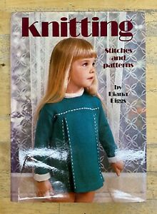 Knitting-Stitches-amp-Patterns-Diana-Biggs-Technics-Crafts-Toys-Dolls-Gift-Vintage