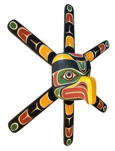 Northwest-Coast-BC-Canada-First-Nation-Indigenous-Art-Cedar-SUN-MASK-Carving