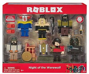 Roblox Game Night - Roblox Night Of The Werewolf Six Figure Pack Ages 6 Toy Game Play