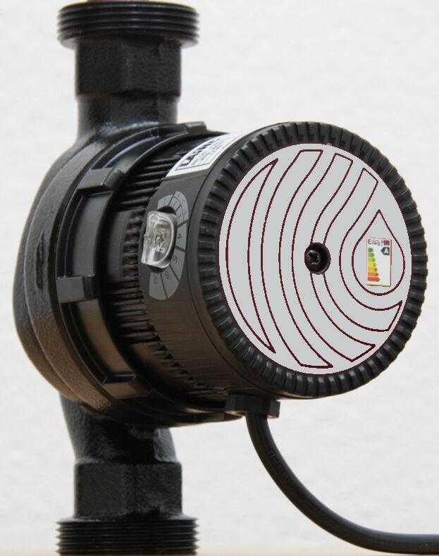 Hocheffiziente Heizungspumpe von Laing Ecocirc+ E6vario+ 25 180 G 1 1 2