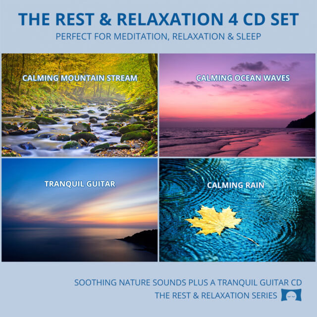 Relaxing Nature Sounds 4 CD Set - for Meditation, Relaxation & Sleep *NEW