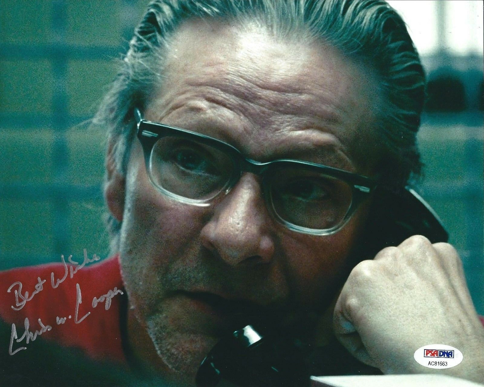 Chris Cooper Signed 'The Town' 8x10 Photo *Adaptation *Breach PSA AC81663