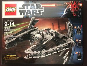 LEGO-Star-Wars-9500-Sith-Fury-class-Interceptor-New-Factory-Sealed-Free-Ship