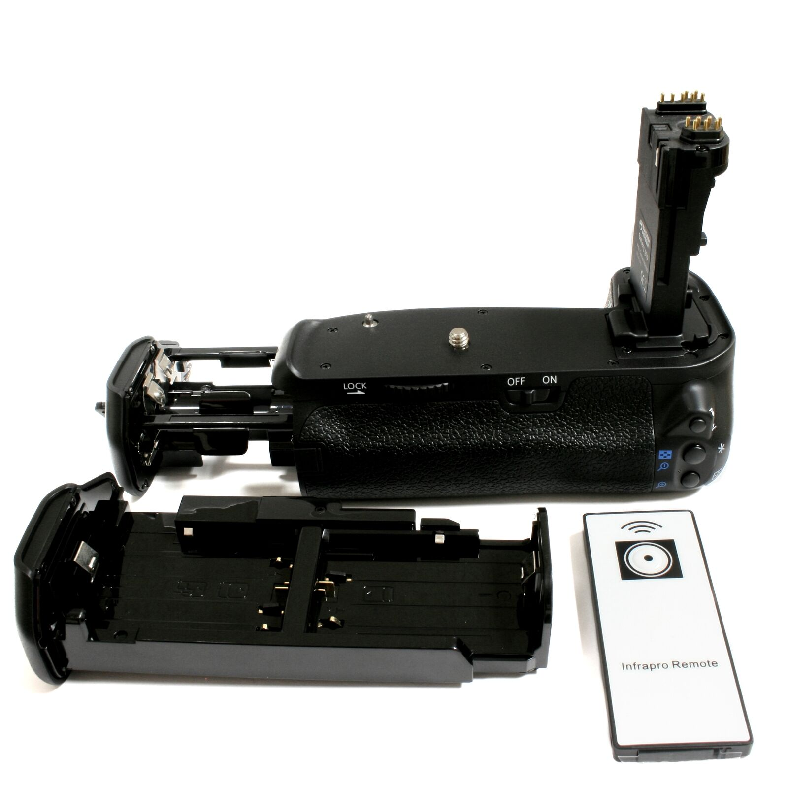 Wasabi Power Battery Grip for Canon BG-E14H and Canon EOS 70D (with Remote)
